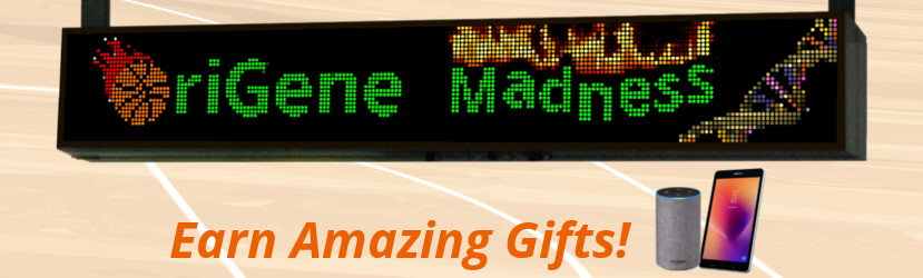 OriGene Madness – Earn Amazing Gifts