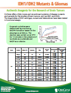 IDH1-IDH2 Mutants & Gliomas Brochure